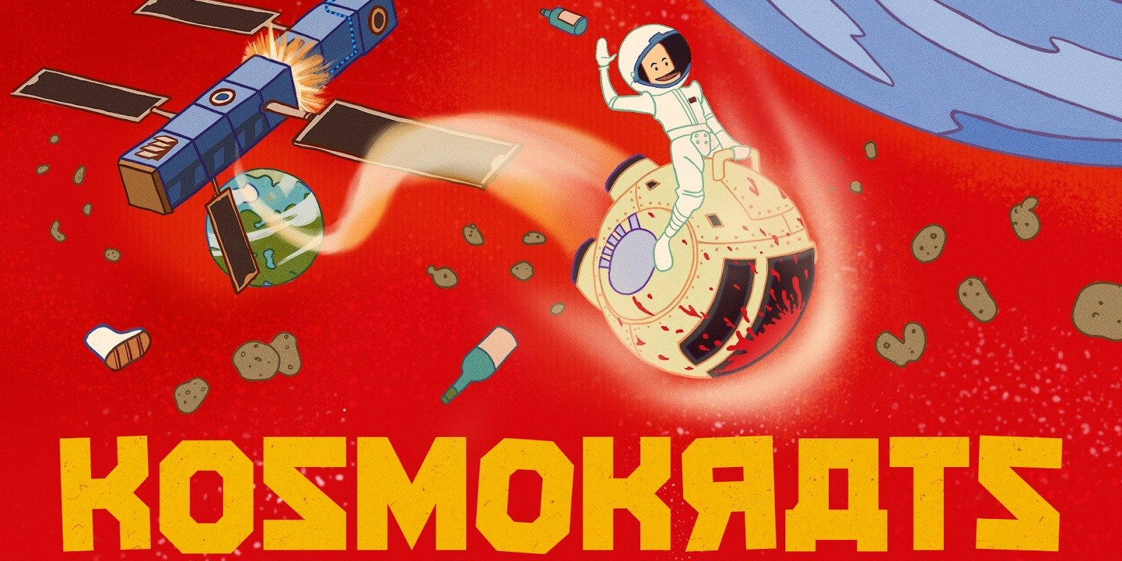 KOSMOKRATS HAS LAUNCHED ON STEAM AND HUMBLE.