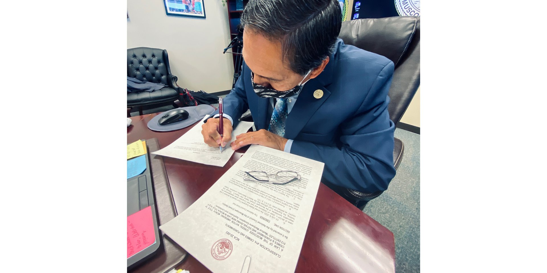Muscogee (Creek) Nation passes legislation for medical marijuana exemption