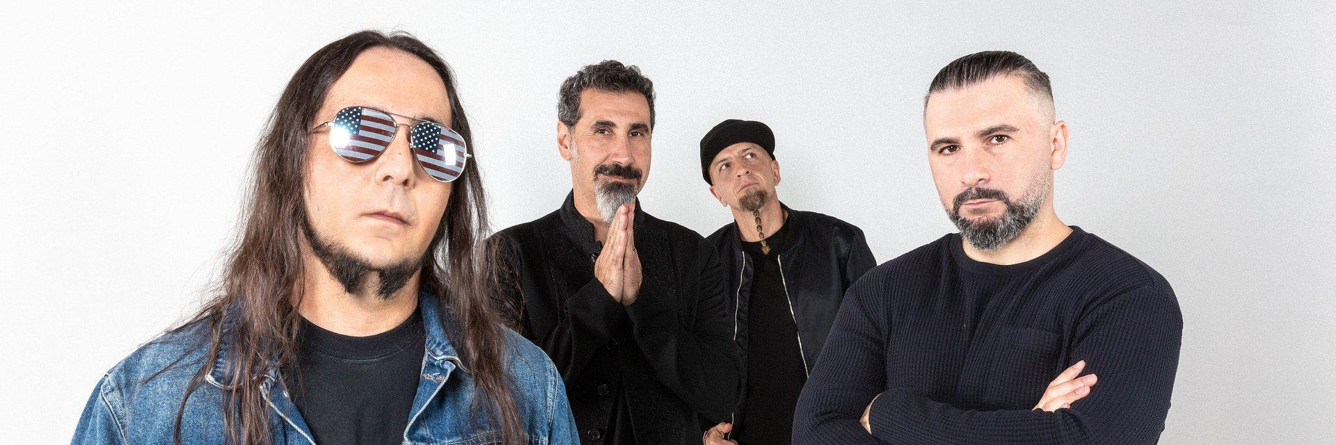 Dwa nowe single System Of A Down po 15letniej przerwie