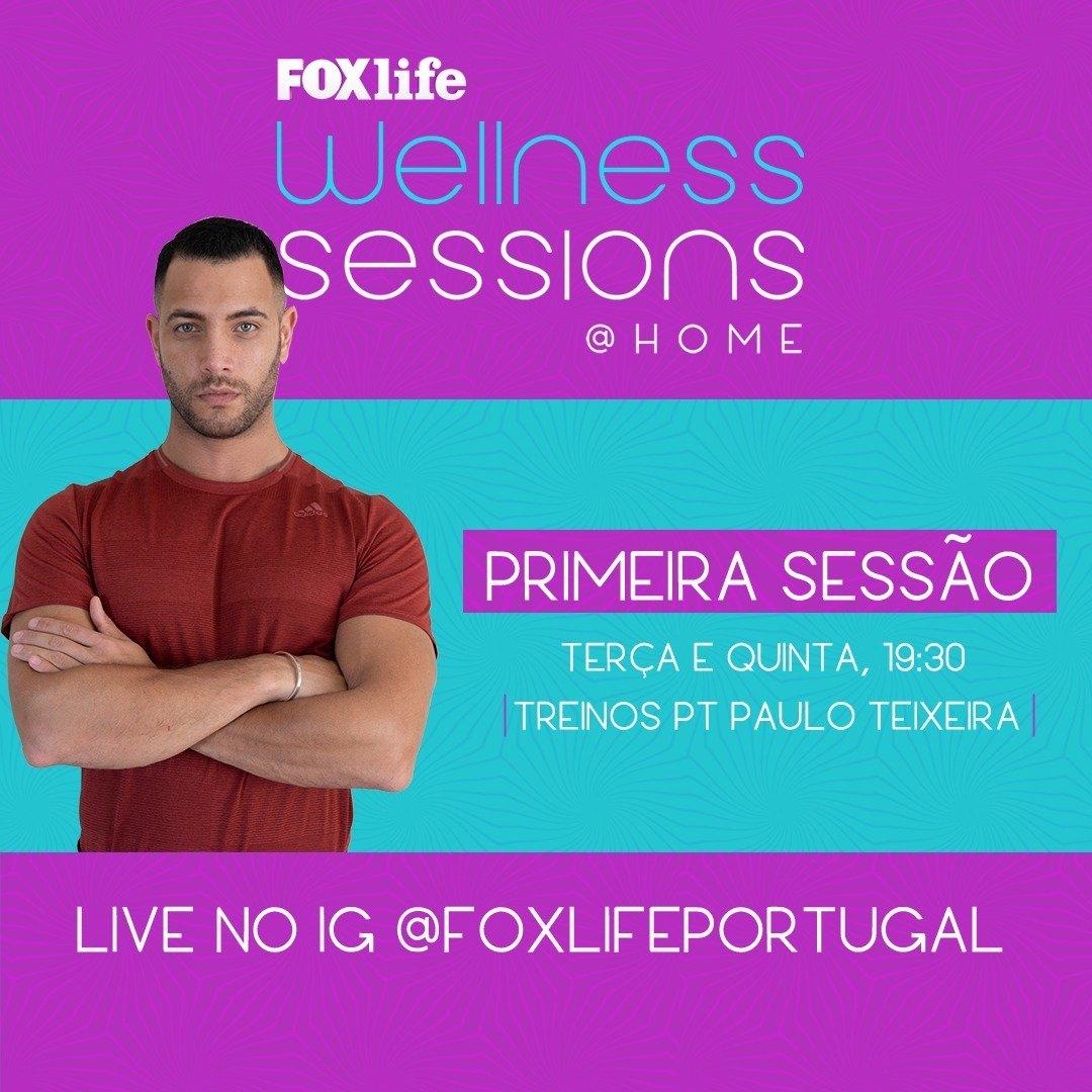 FOX LIFE APRESENTA 2ª EDIÇÃO DAS WELLNESS SESSIONS @HOME COM PAULO TEIXEIRA
