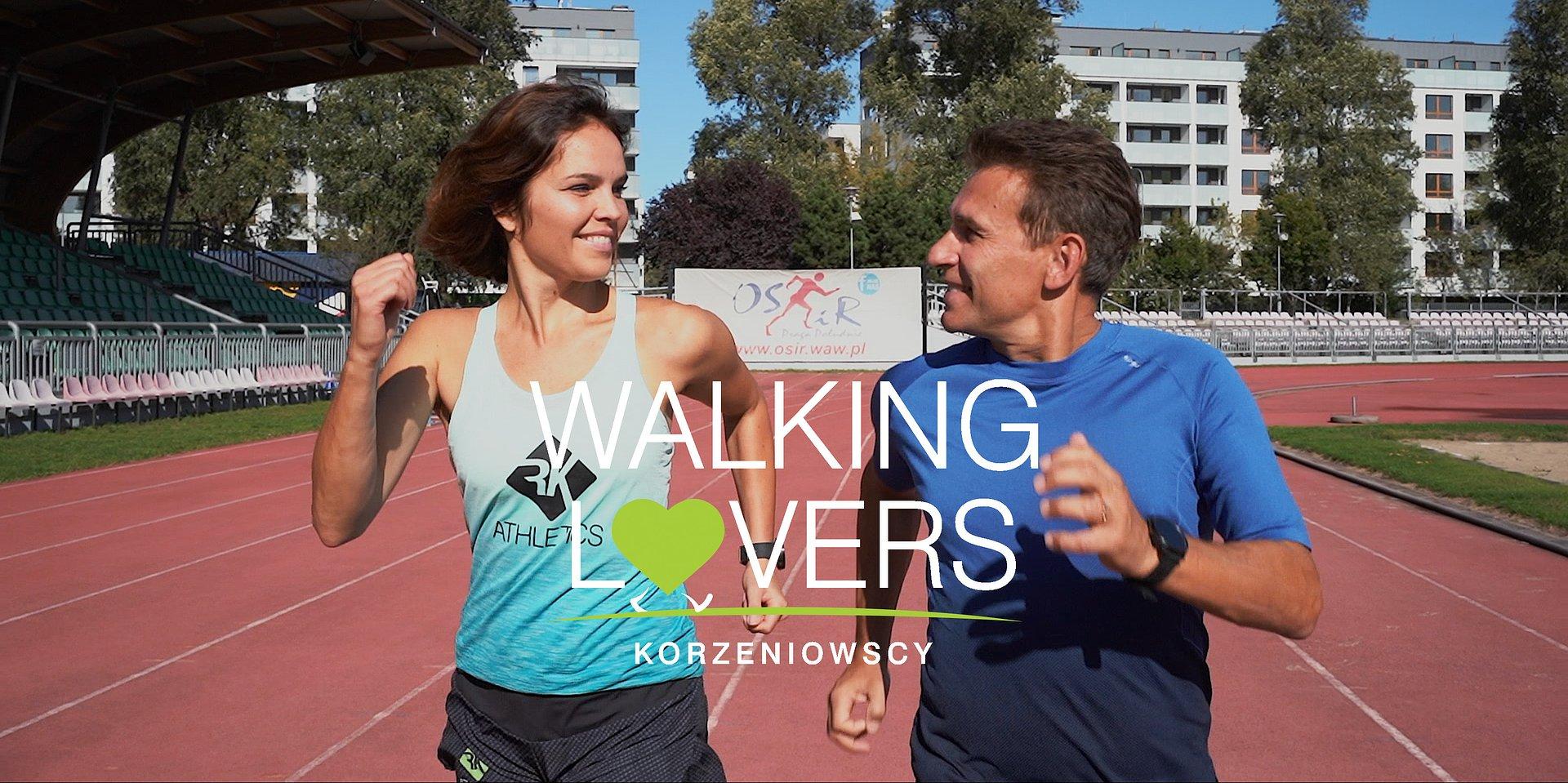 Walking Lovers - Robert i Justyna Korzeniowscy promują walking wśród Polaków na YouTube