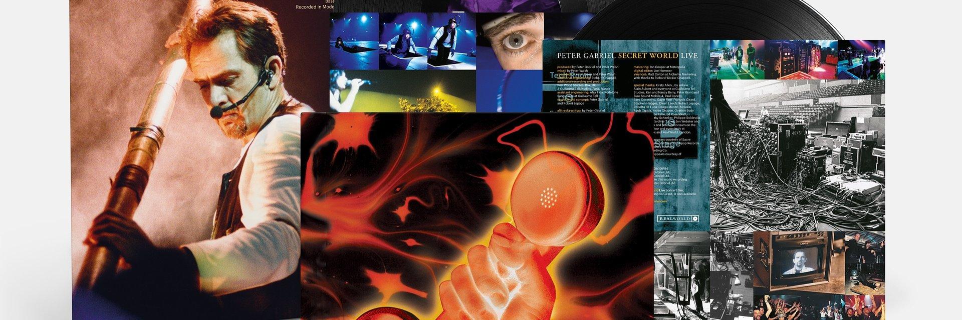 """""""Secret World Live"""" Petera Gabriela po raz pierwszy na winylu!"""