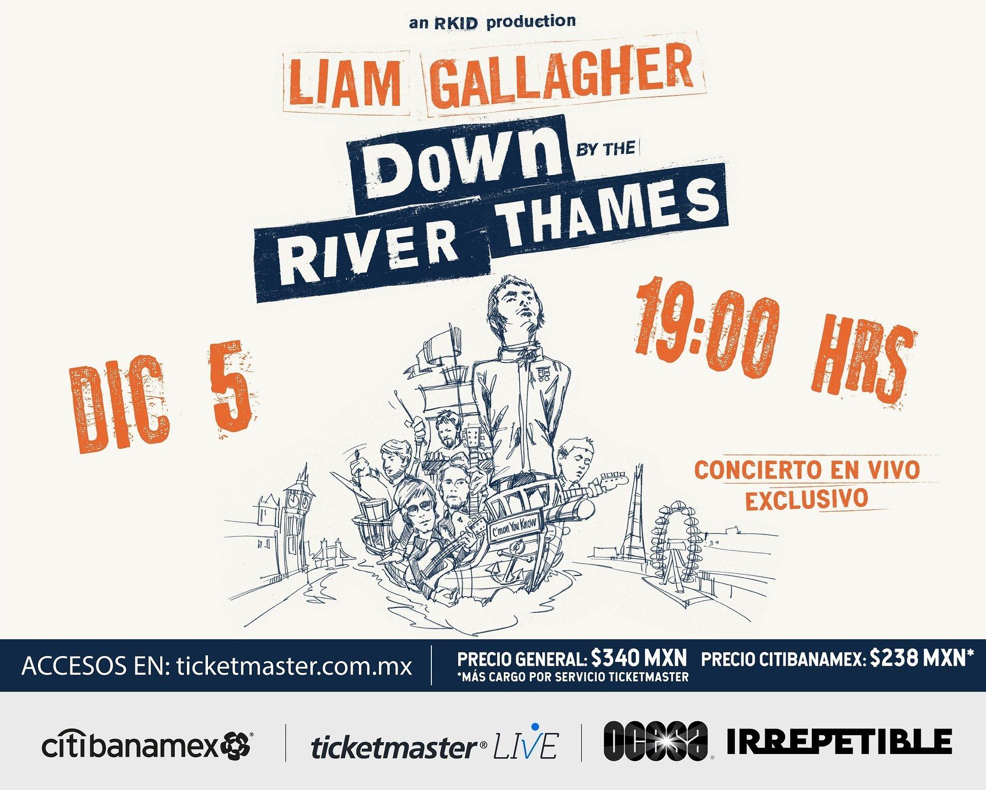 Liam Gallagher presenta Down By The River