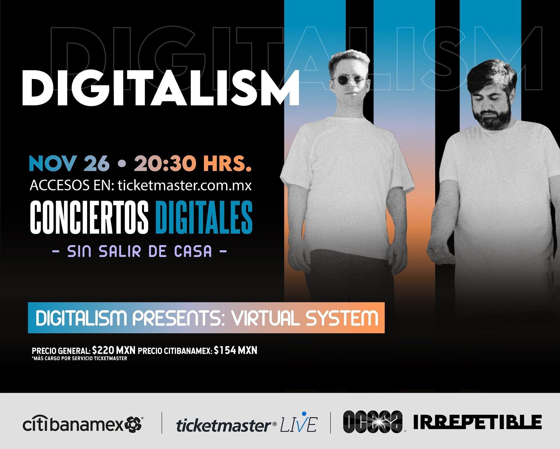 DIGITALISM presents: Virtual System