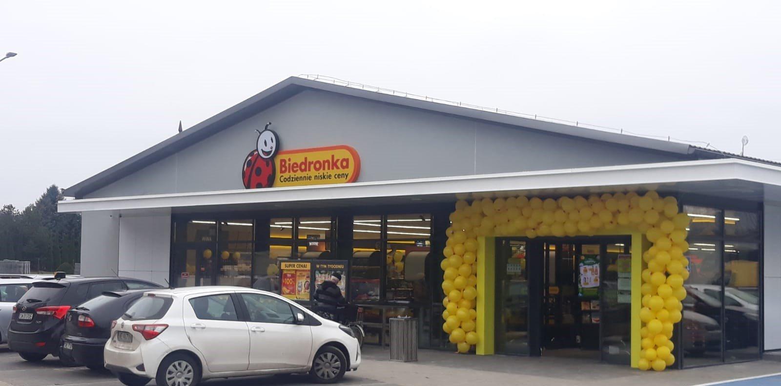 Pierwszy sklep Biedronka w Szpetalu Górnym, 169 w województwie