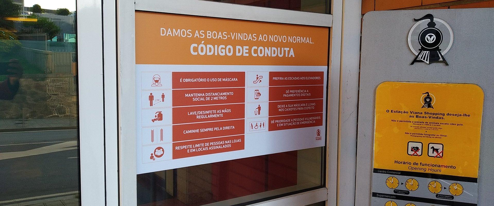 Estação Viana Shopping renova selo de higiene e segurança com certificação SGS