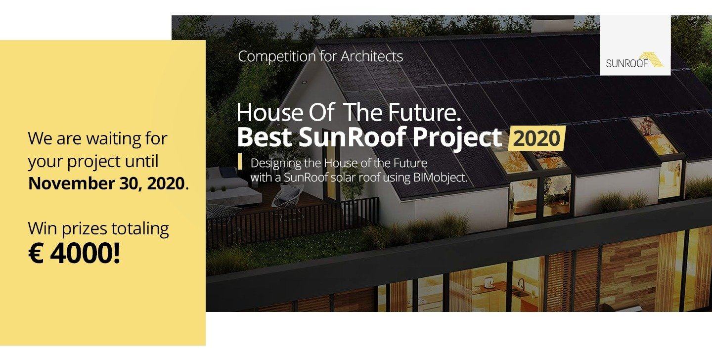 An eminent international jury to evaluate the works in the architectural competition 'House of the Future. Best SunRoof Project 2020'
