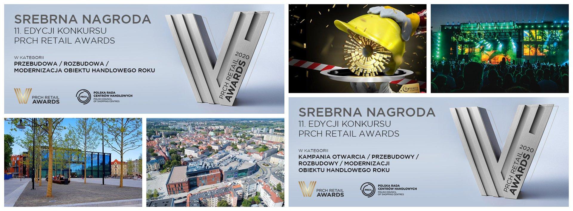 Przebudowa i re-otwarcie CH Solaris nagrodzone przez branżę handlową