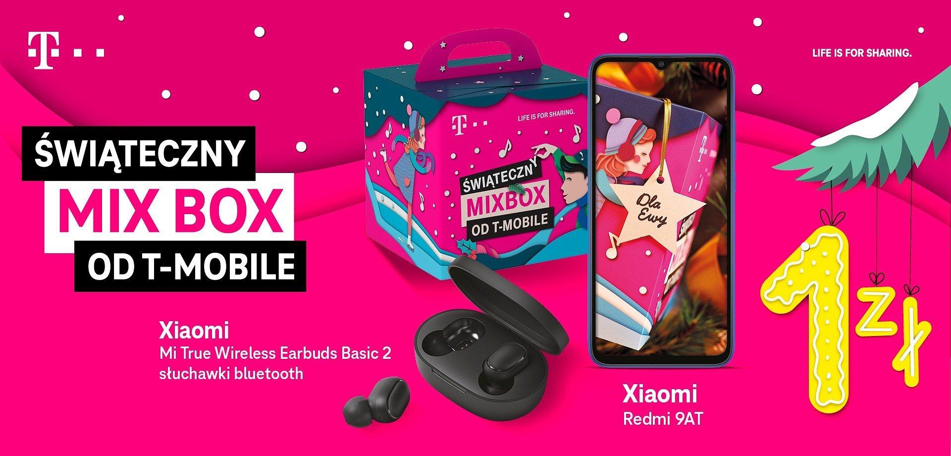 T-Mobile otwiera pękaty worek świątecznych MIX BOX-ów!