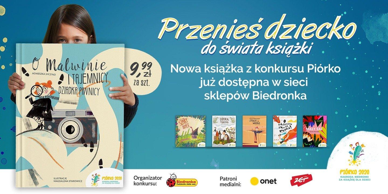 """Finał konkursu Biedronki """"Piórko 2020"""". Zwycięska książka już w sprzedaży!"""