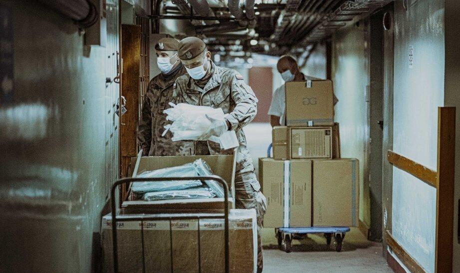 Wojsko w aptekach szpitalnych? Terytorialsi na pomoc zespołom przetrzebionym przez epidemię