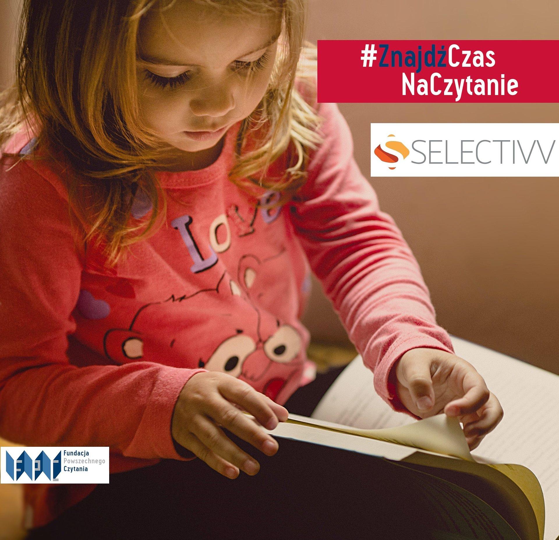 Selectivv ponownie wspiera czytelnictwo dzieci