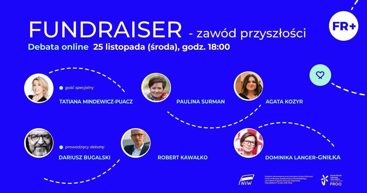 Debata online: Czy fundraiser to zawód przyszłości?