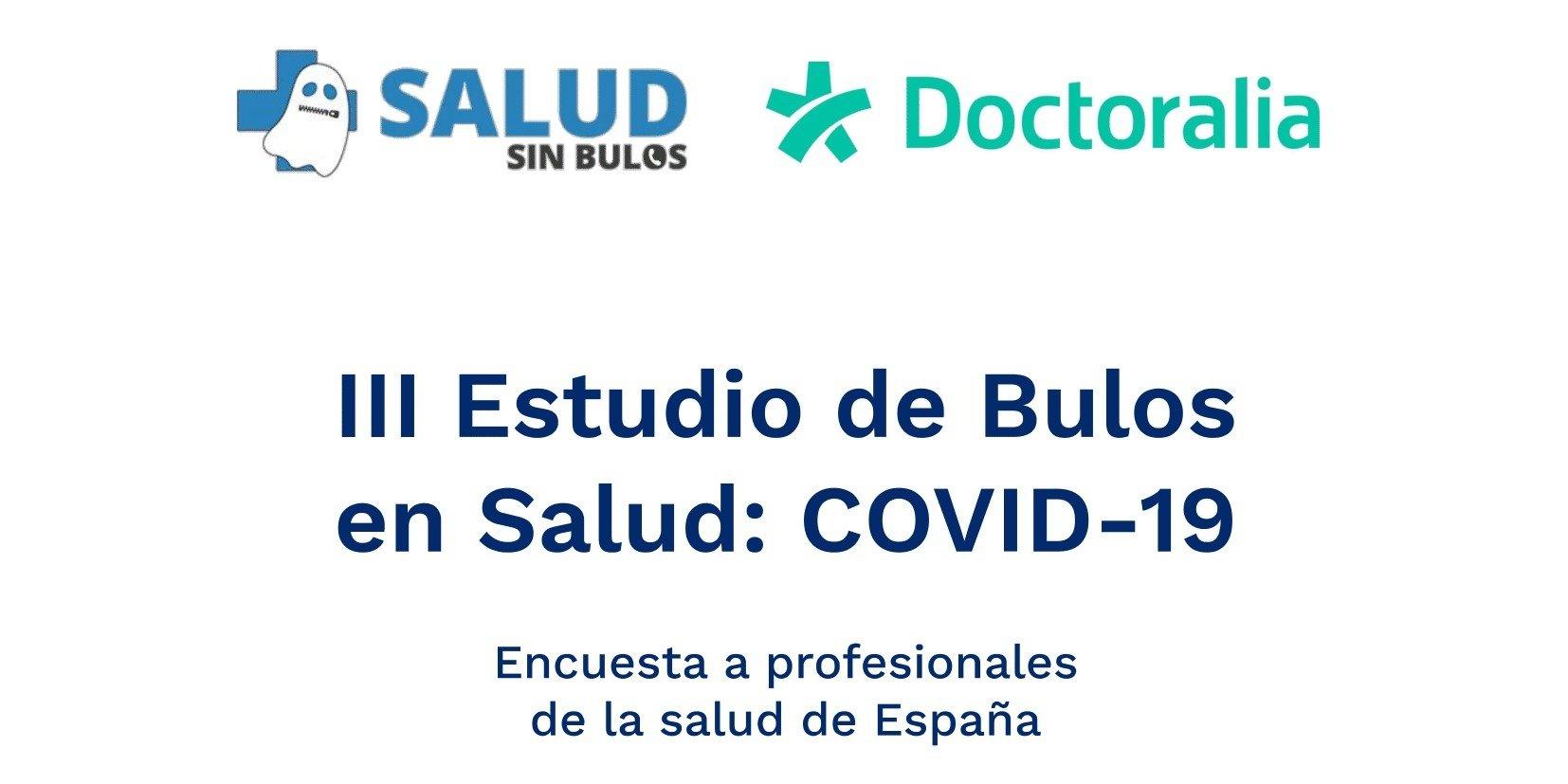 2 de cada 3 médicos han atendido consultas acerca de tratamientos para Covid-19 sin evidencia científica.