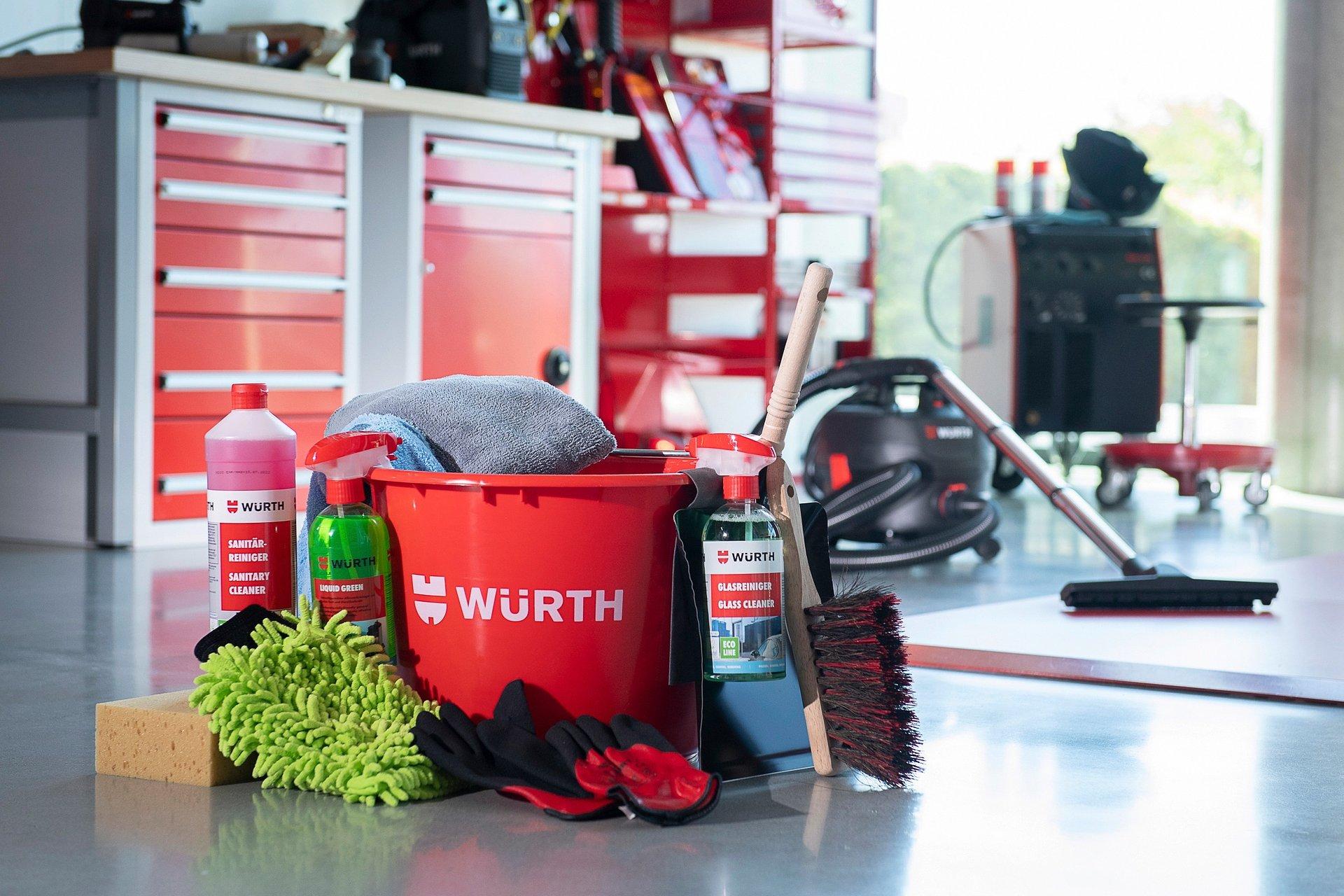 Czystość na najwyższym poziomie. Nowa oferta środków do sprzątania od Würth Polska