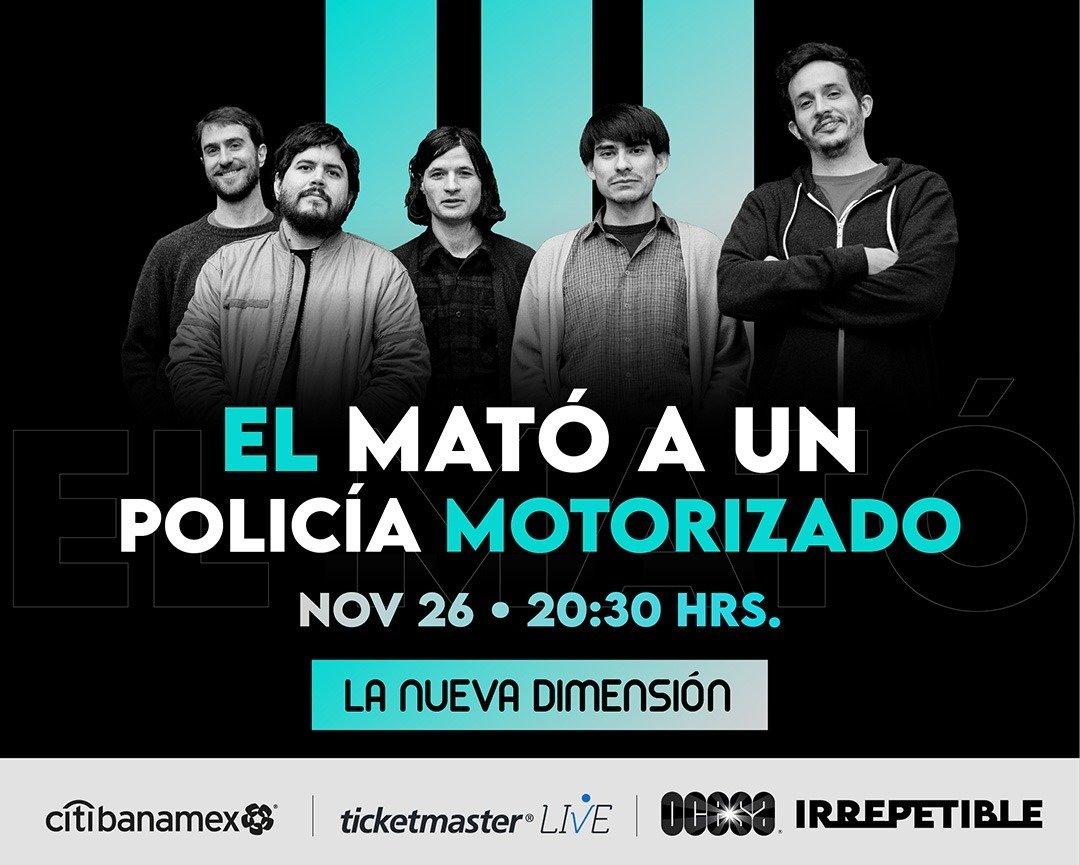 Invitación Conferencia de Prensa Virtual El Mató a un Policía Motorizado
