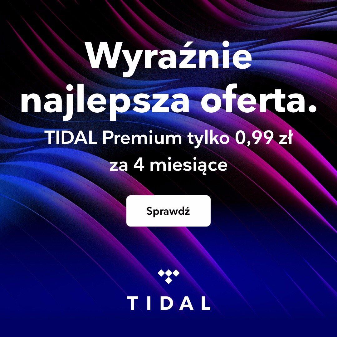 BLACK FRIDAY i CYBER MONDAY w TIDAL: 4 miesiące muzyki bez limitu za 0,99 zł (Premium) i 1,99 zł (HiFi)!