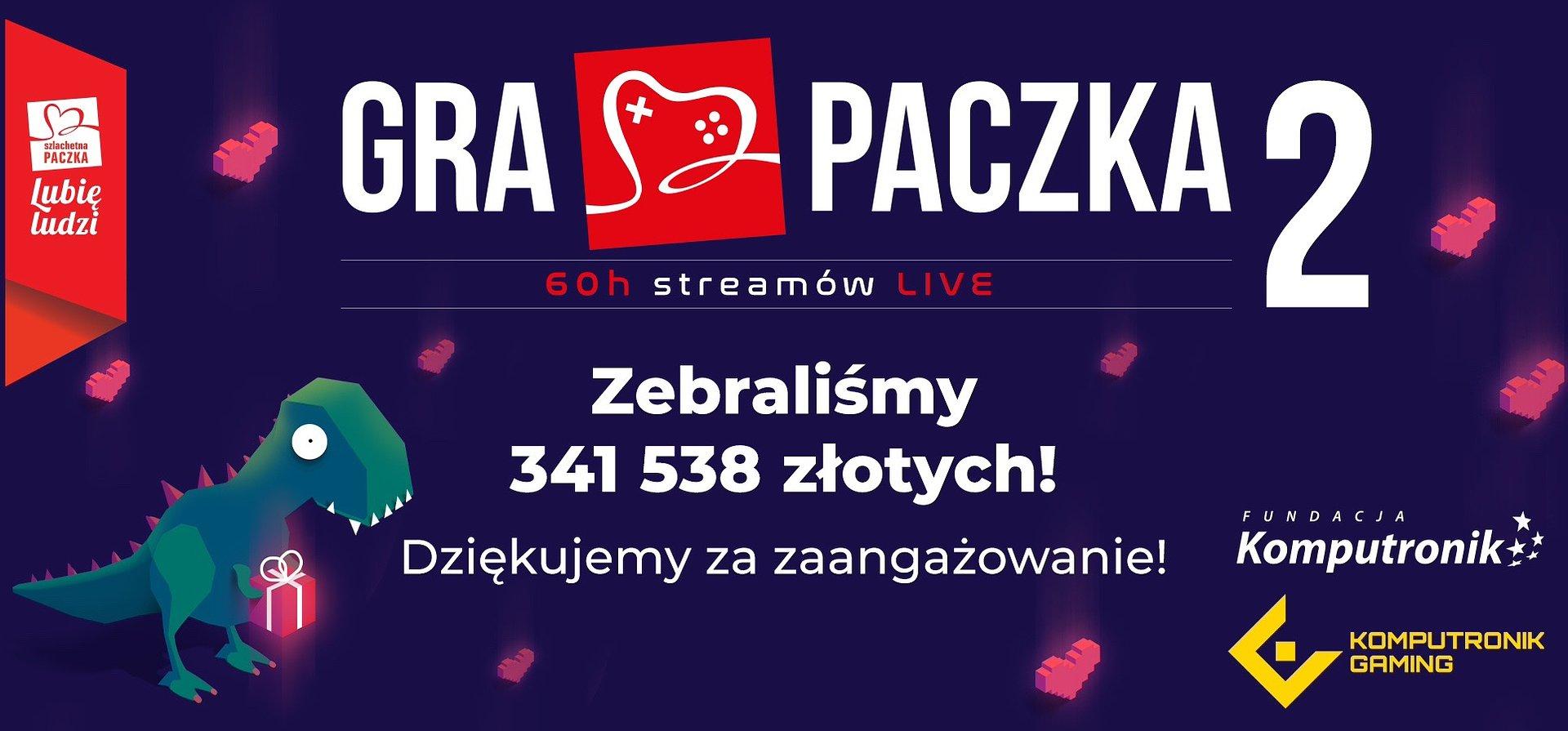 Gra Paczka z rekordowym wynikiem!