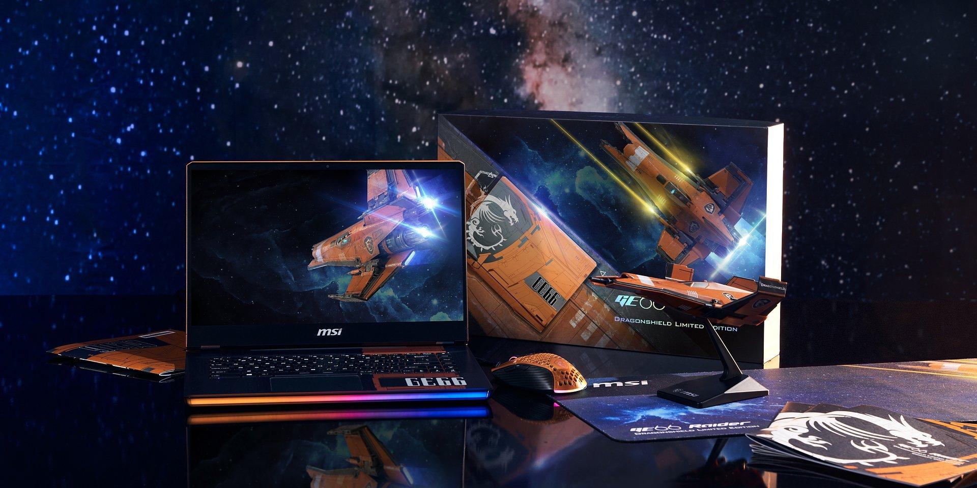 Orzeł wylądował! Laptop MSI GE66 Dragonshield inspirowany statkiem kosmicznym już dostępny w Polsce!