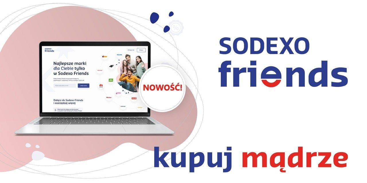 Sodexo Friends – nowy serwis dla łowców promocji