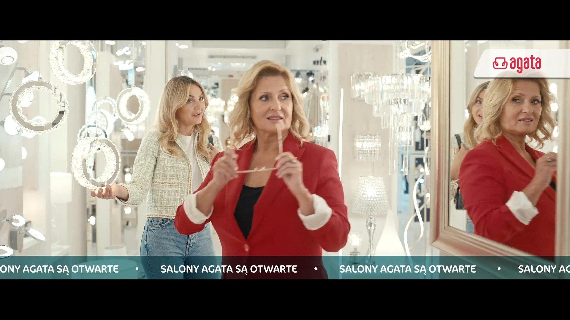 """Salony sieci Agata ponownie otwarte: marka prezentuje nowy spot reklamowy oraz """"Mega Rabaty"""" na Black Weekend"""