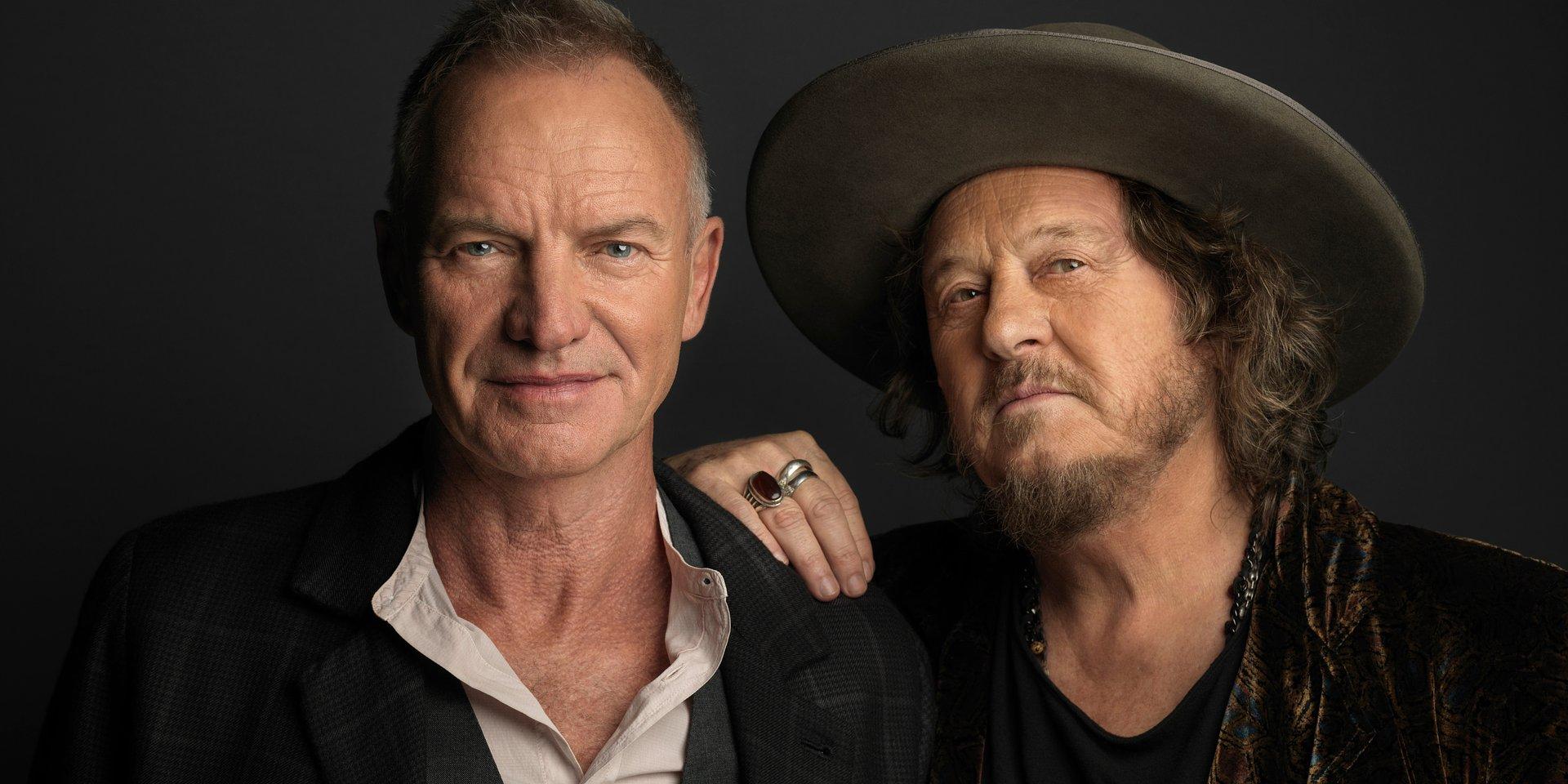Sting zapowiada nowy album duetem z Zucchero