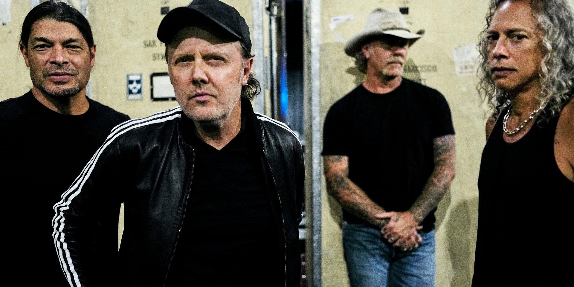 Metallica okupuje czołówkę OLiS