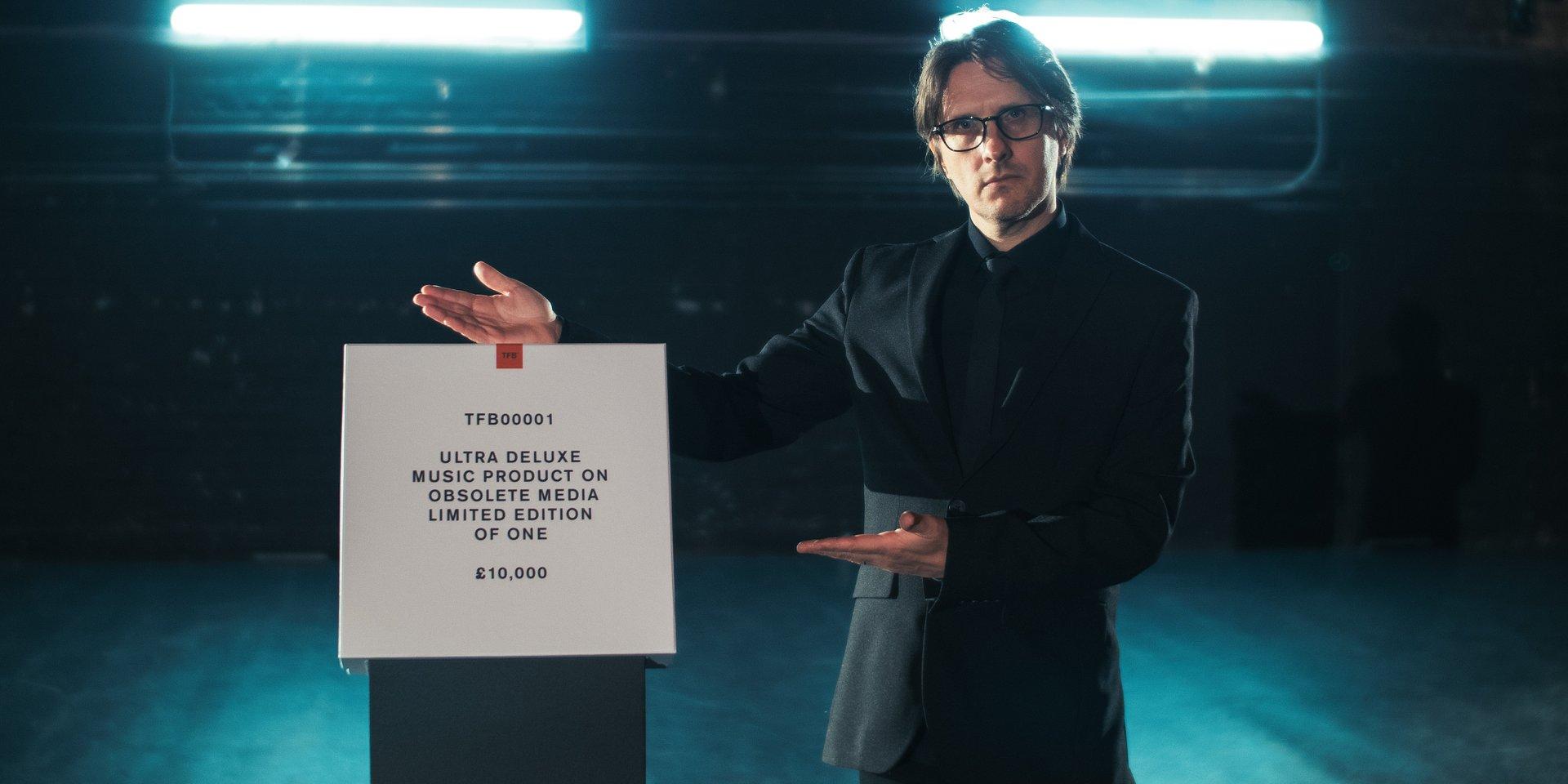 To nie była promocja na Black Friday. Steven Wilson sprzedał płytę o równowartości 50 tys. złotych