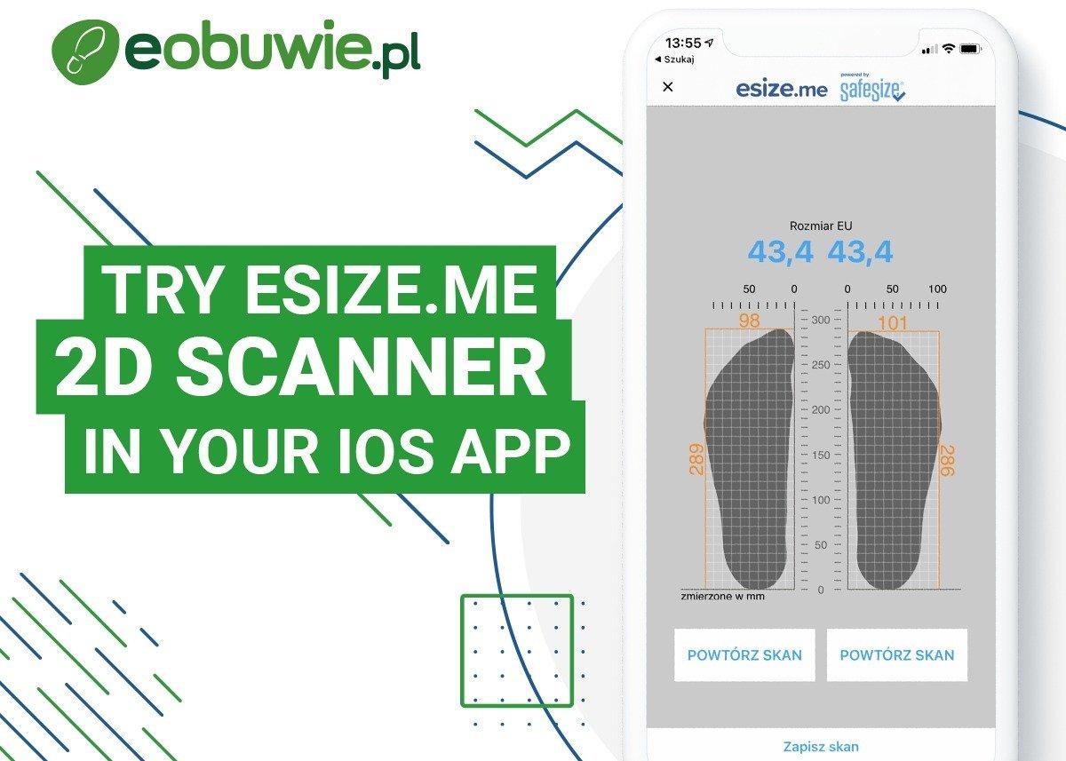 Skaner 2D już dostępny w aplikacji mobilnej z systemem iOS