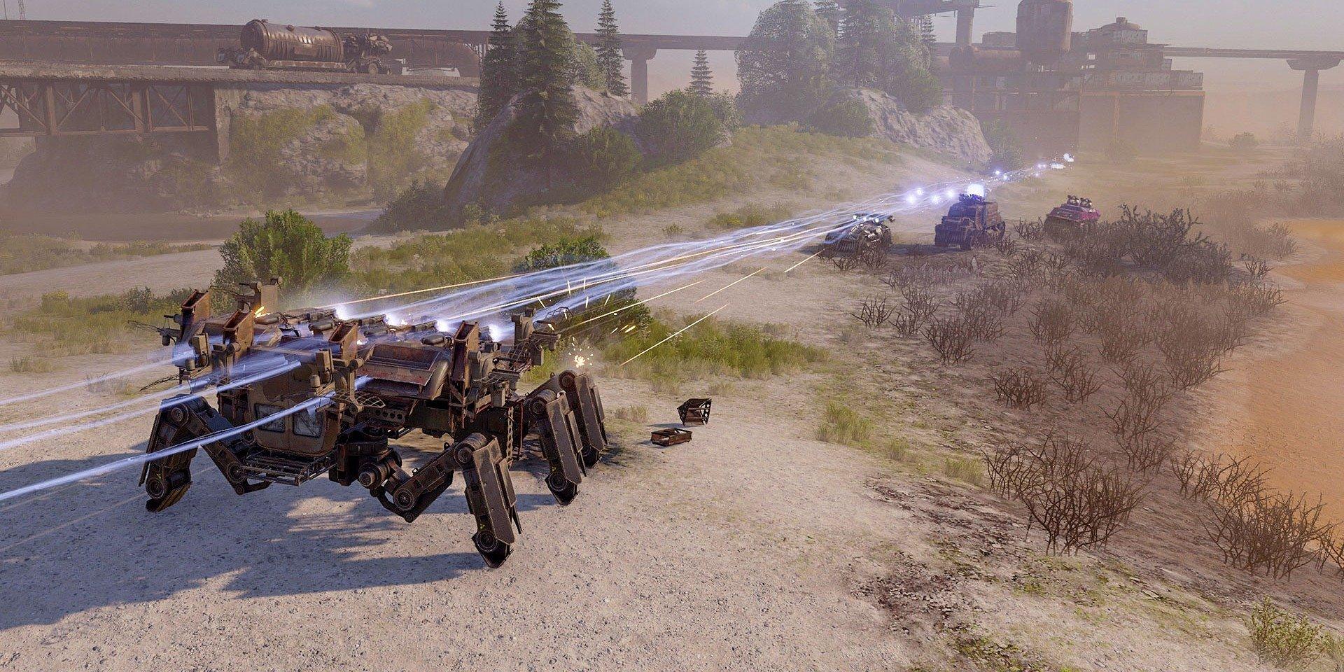 Hráči Crossout sa zúčastnia bojov o čistú vodu