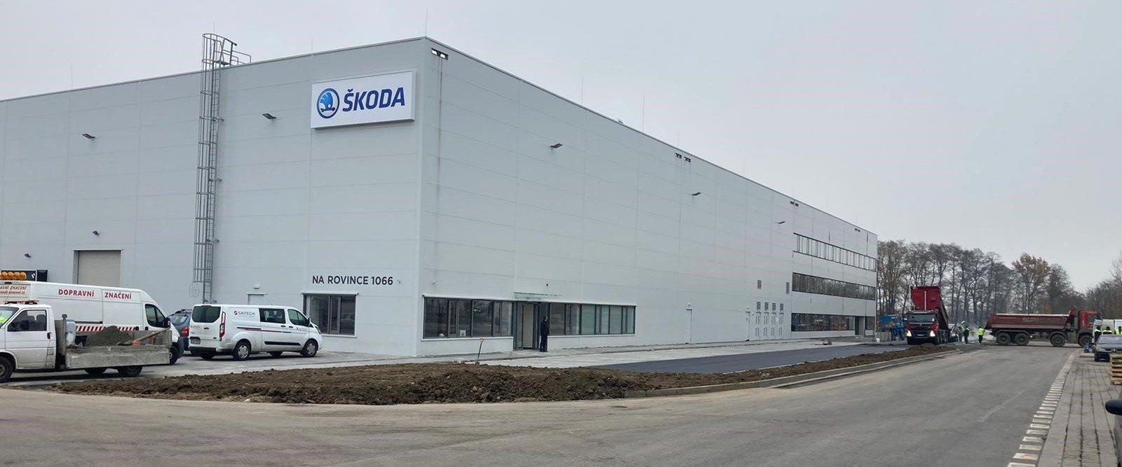 Novým nájemcem v CTParku v Ostravě - Hrabové je tradiční česká společnost Škoda Vagonka