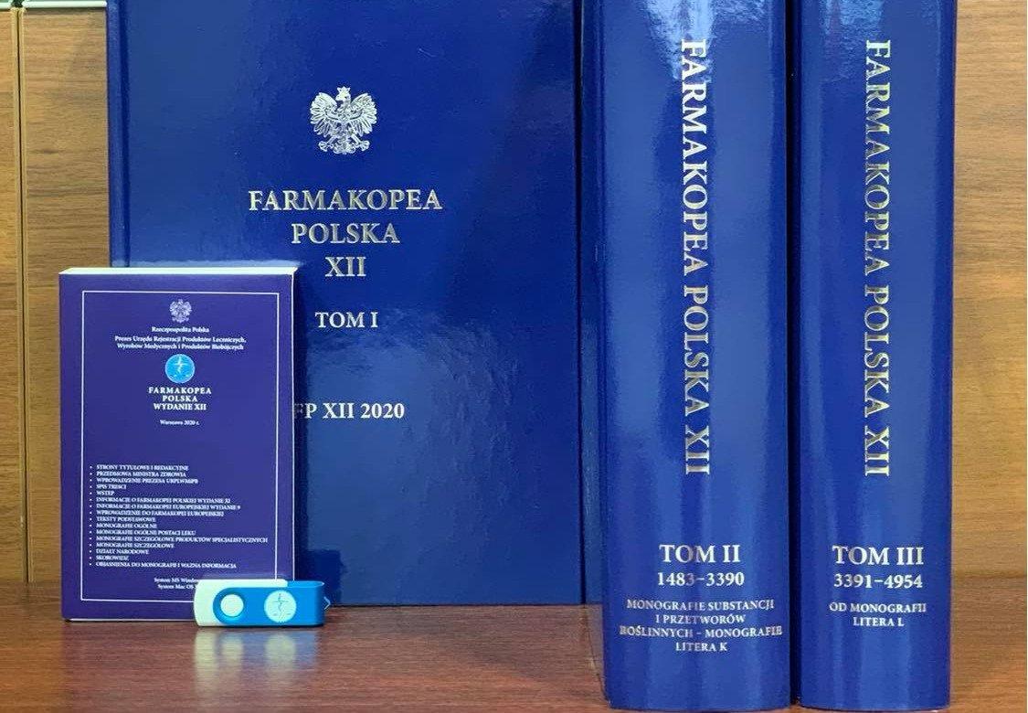 Jest nowe wydanie Farmakopei Polskiej - FP XII 2020. Kolejne online?