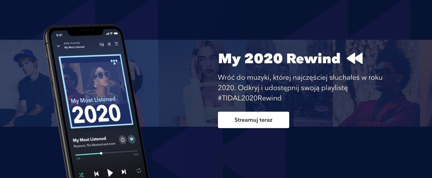 """""""My 2020 Rewind"""" – muzyczne podsumowanie roku dla użytkowników TIDAL"""