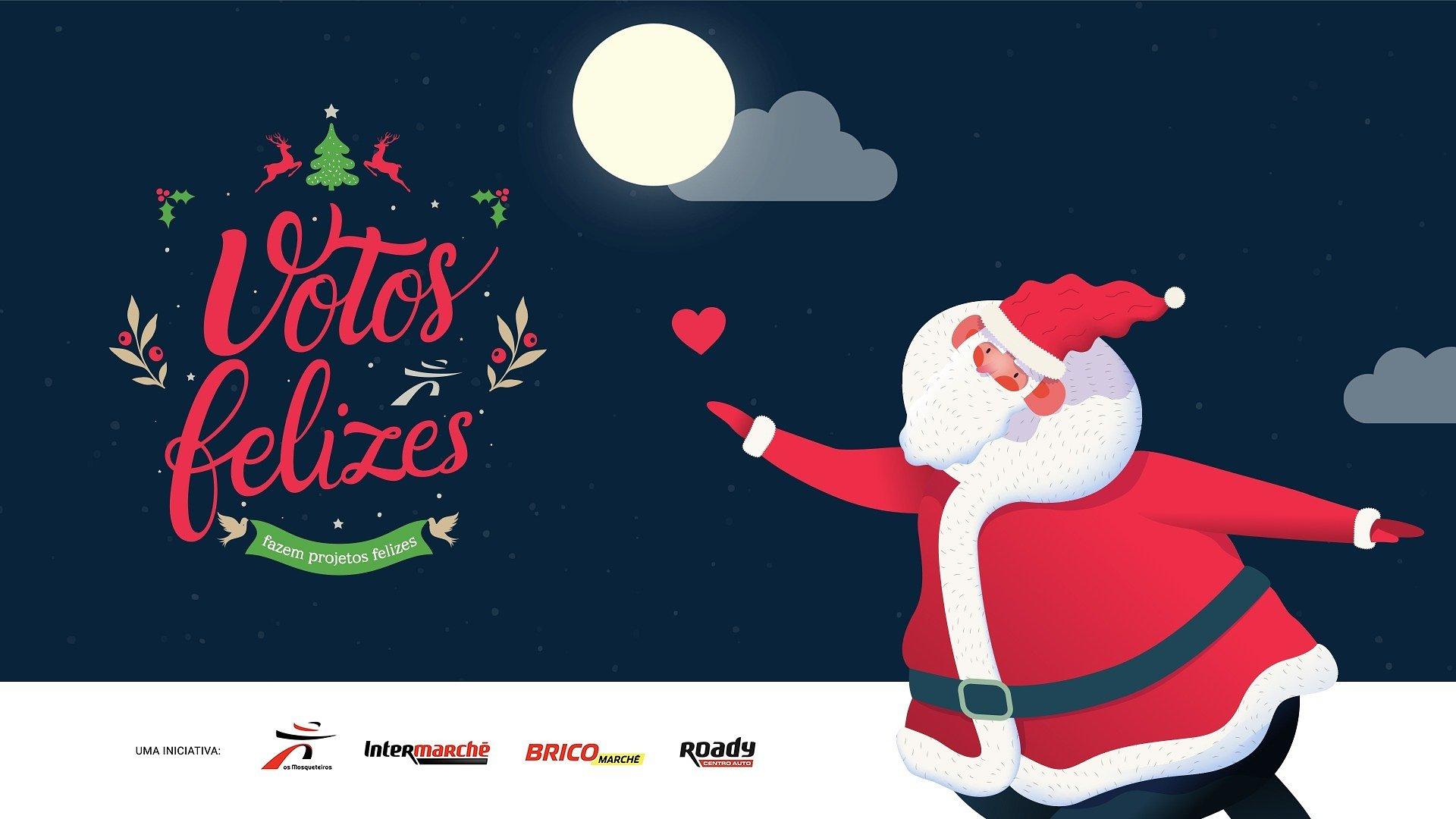 Este Natal votos de boas festas concretizam projetos de instituições de todo o país