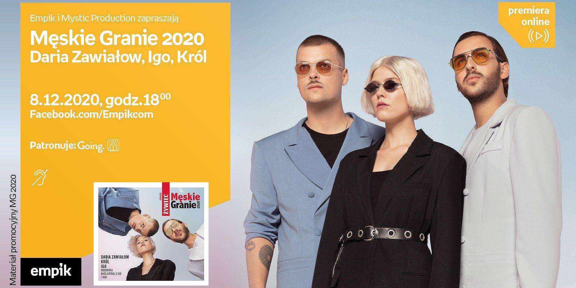 Spotkania online z polskimi artystami młodego pokolenia – Męskie Granie 2020 i Magda Bereda
