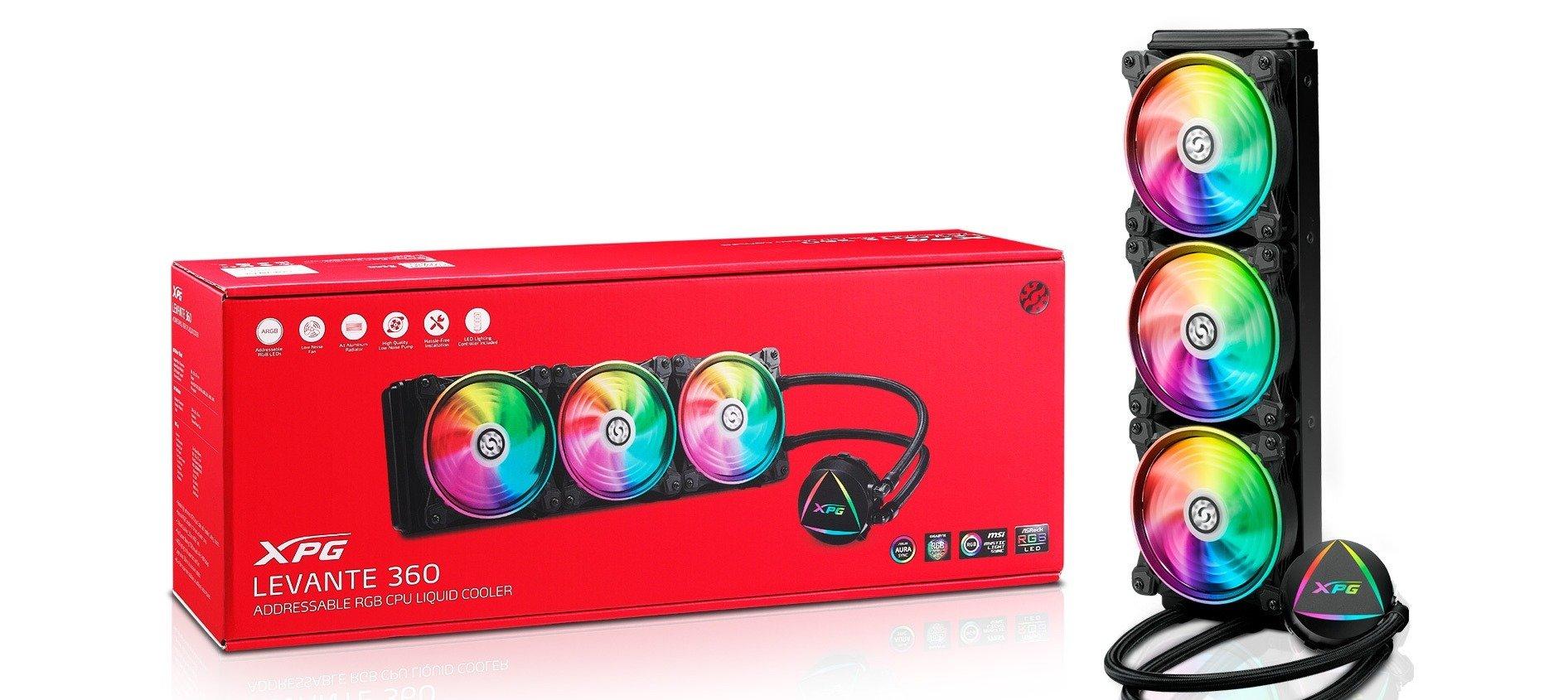 Układ chłodzenia procesora XPG Levante 360 - co nowego zaproponował nam producent sprzętu?
