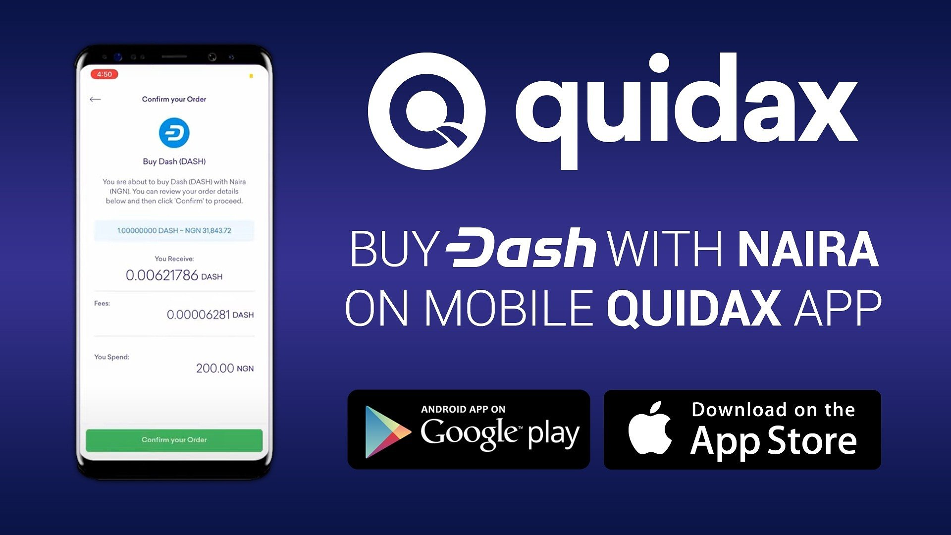African Crypto Exchange Quidax has listed Dash for Faster and Cheaper Payments