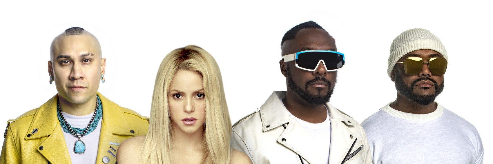 Wspólny klip Black Eyed Peas i Shakiry