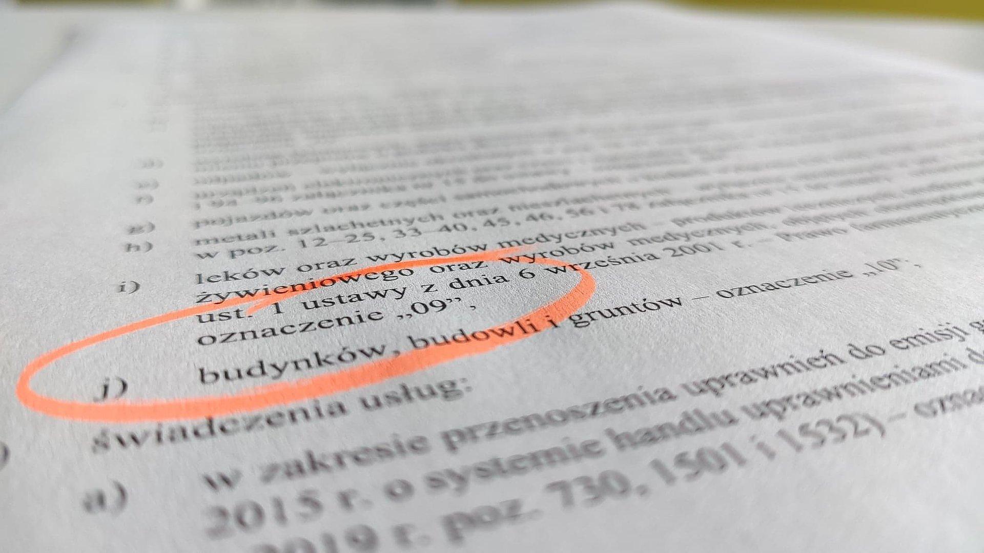 Oznaczenia kodem GTU_09. Ministerstwo rozwiewa wątpliwości