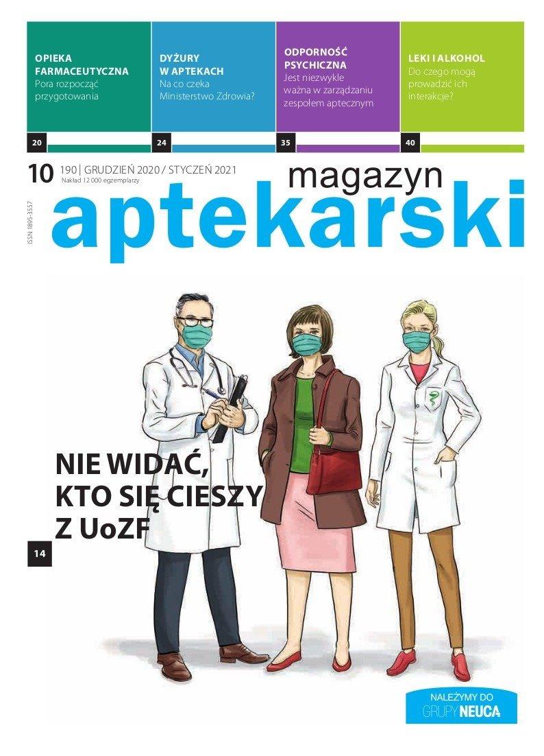 """""""Magazyn Aptekarski"""", grudzień 2020/styczeń 2021"""
