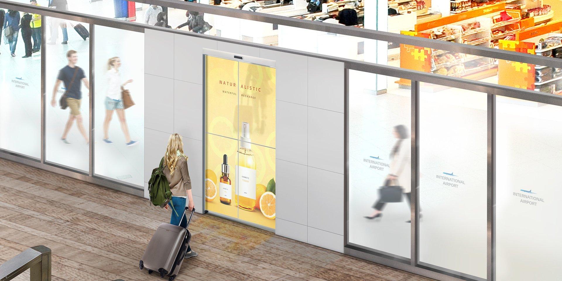 LG i ASSA ABLOY opracują pierwsze na świecie drzwi z wbudowanym przezroczystym wyświetlaczem OLED