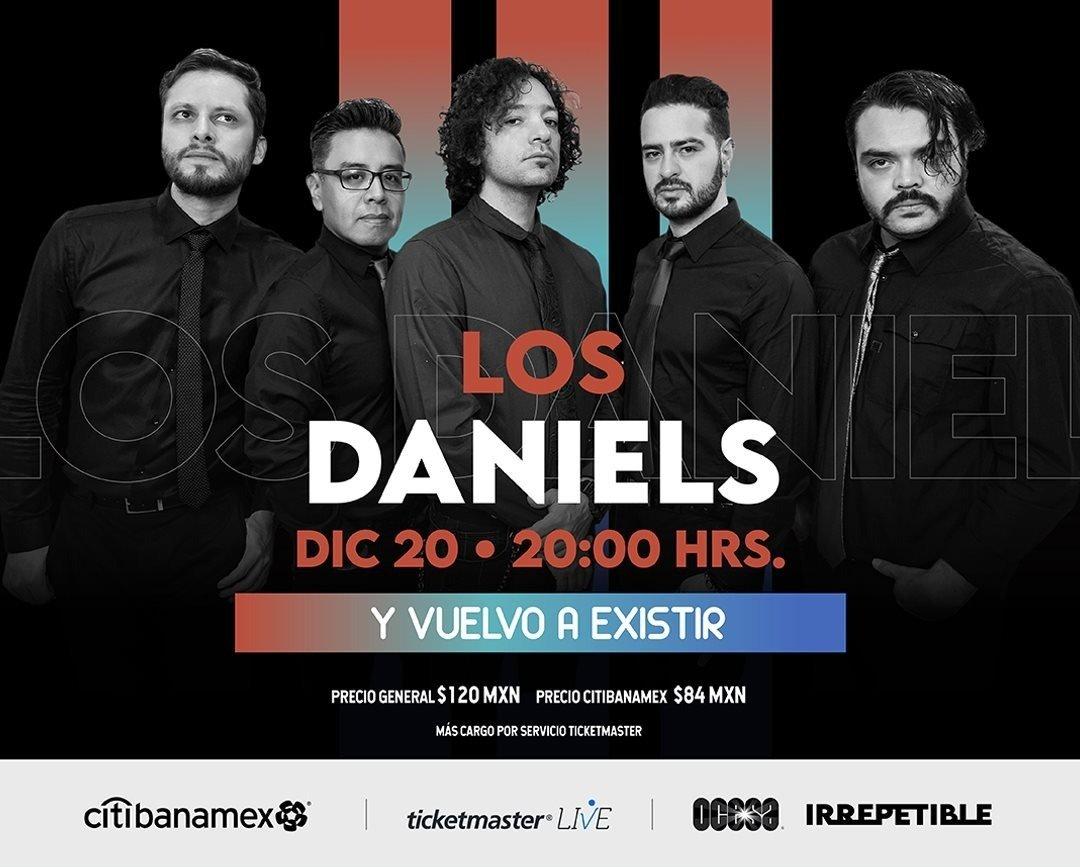 Los Daniels darán un show IRREPETIBLE