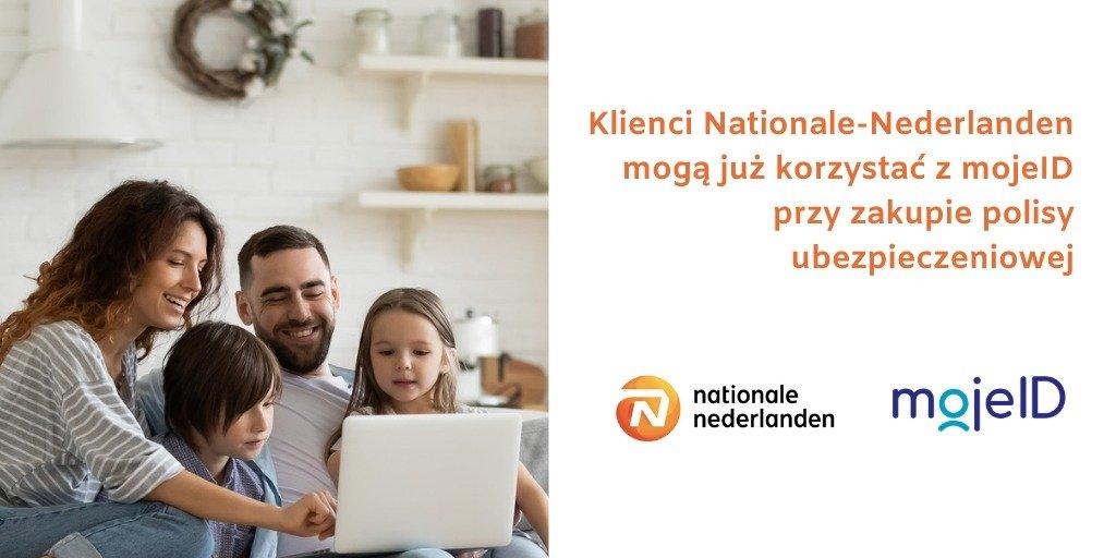 Nationale-Nederlanden wprowadza zdalne potwierdzanie tożsamości za pomocą mojeID w procesie zakupu polisy ubezpieczeniowej