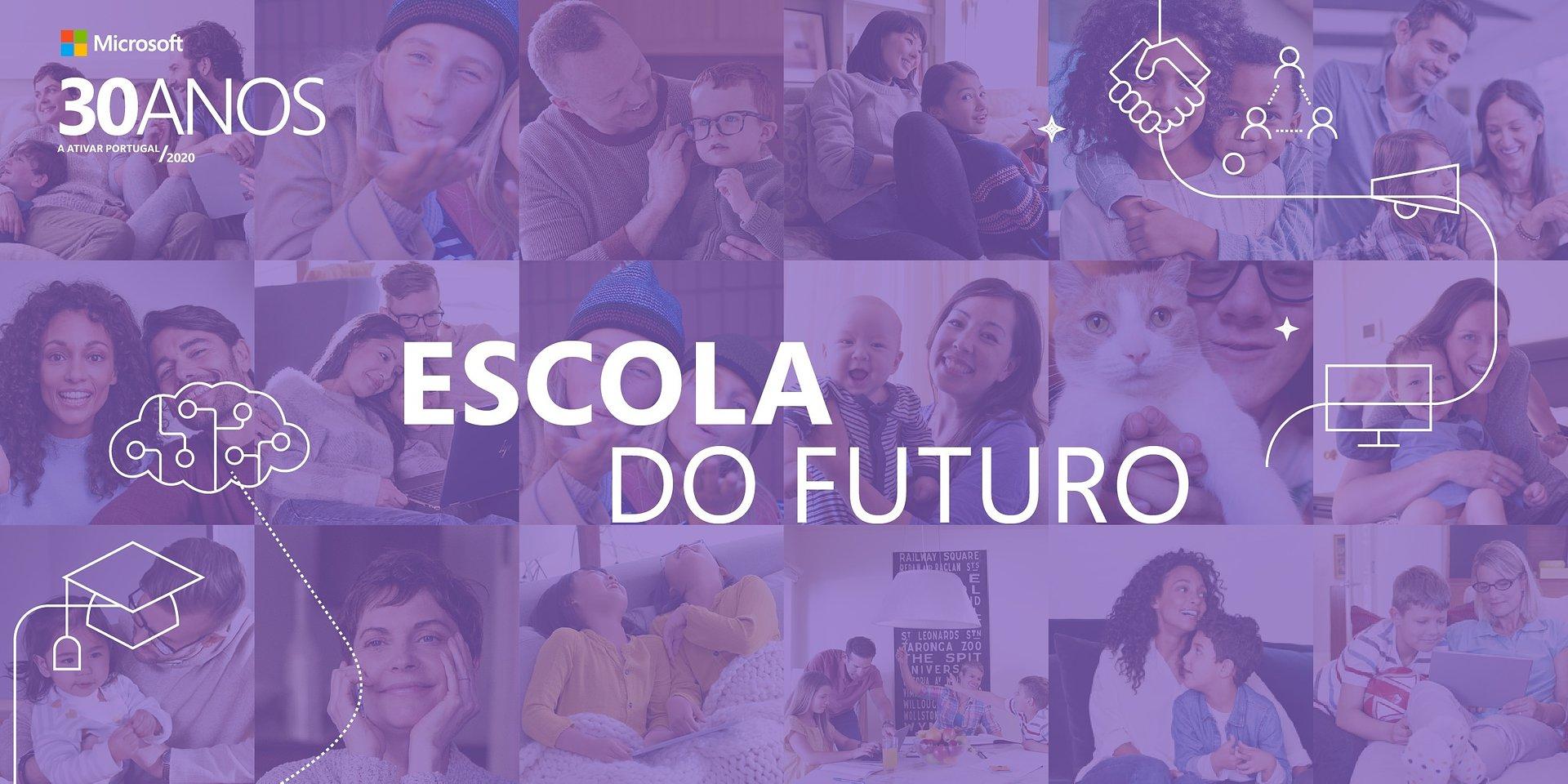 """Microsoft anuncia vencedores do concurso """"Escola do Futuro"""""""