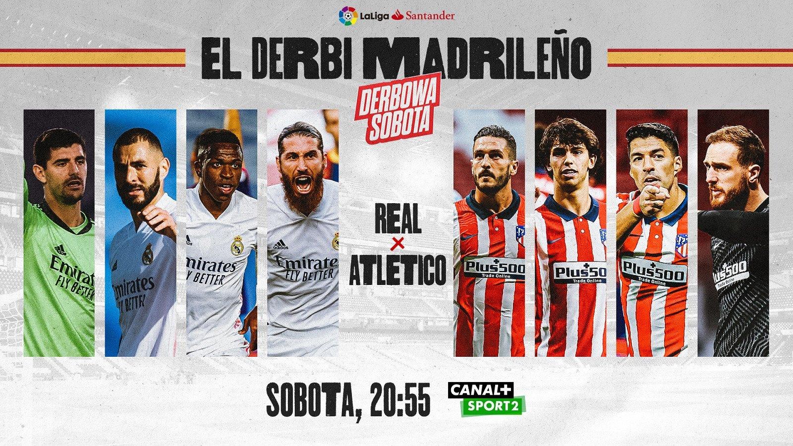 Derby Manchesteru i Madrytu – sportowy weekend w CANAL+