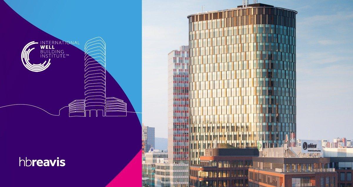 Twin City Tower von HB Reavis: das einzige WELL-zertifizierte Gebäude in der Slowakei