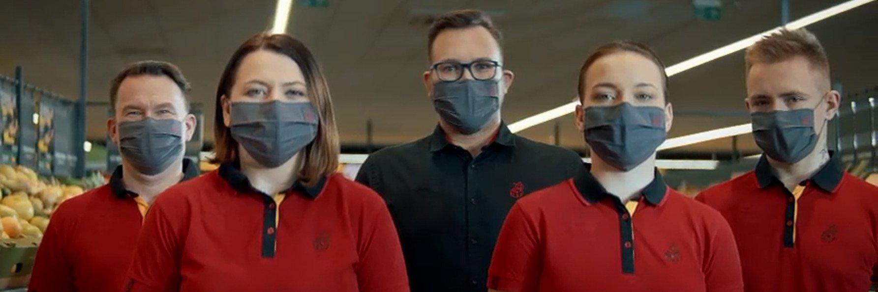 """Biedronka nową kampanię dedykuje swoim pracownikom. """"Dziękujemy, że czynicie niemożliwe możliwym"""""""