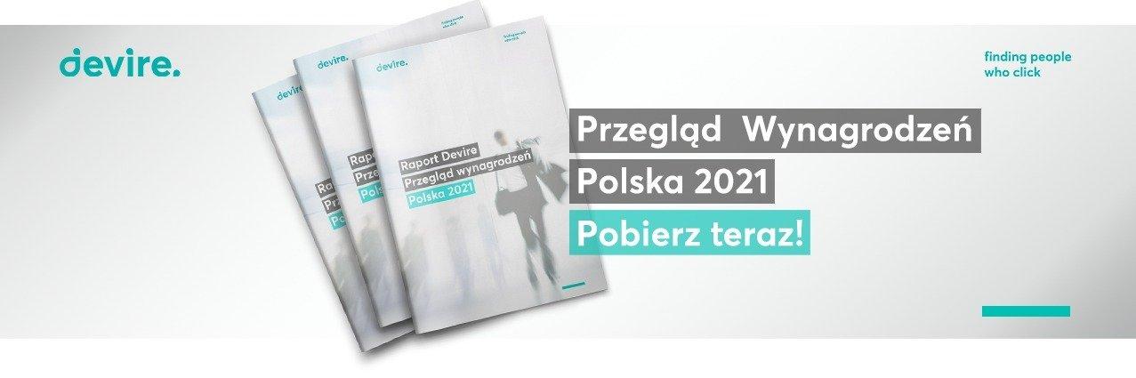Raport Przegląd wynagrodzeń Polska 2021