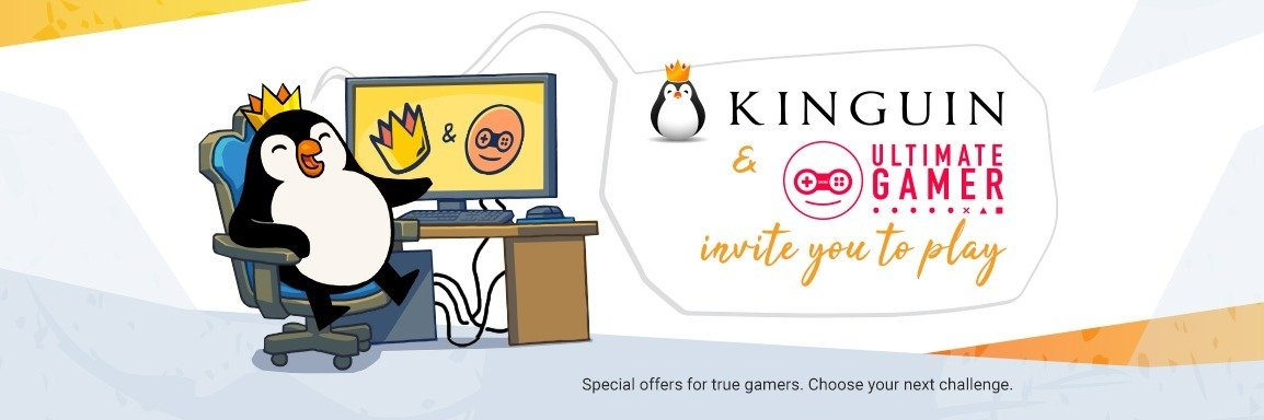 Ultimate Gamer Inks Multi-Year Partnership with Kinguin to Power Virtual Store and Bring Over 45,000 Gaming Titles to 1.6 Million Esports and Gaming Fans