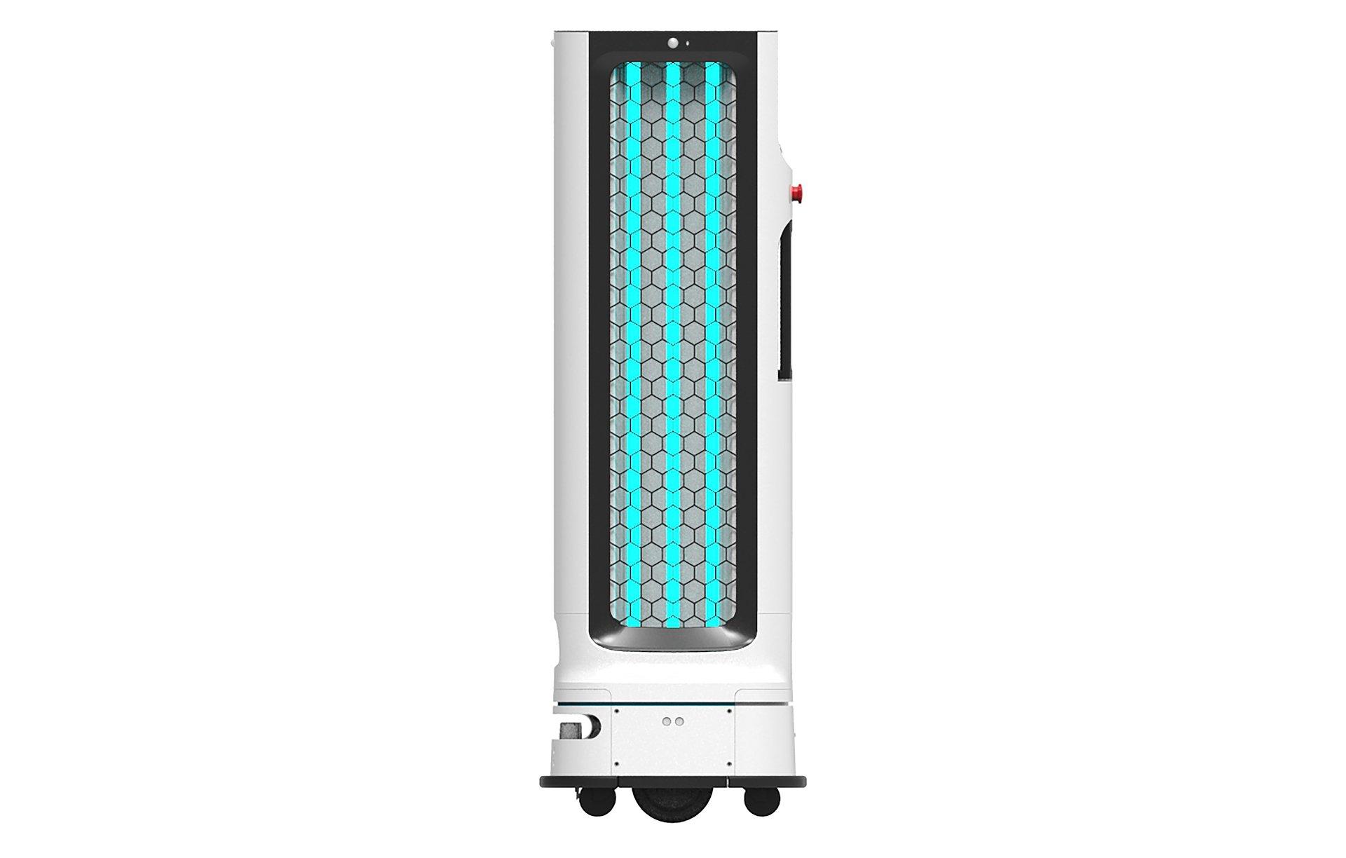 CES 2021: Autonomiczny robot z dezynfekującą lampą UV – innowacyjne rozwiązanie LG do zastosowań B2B